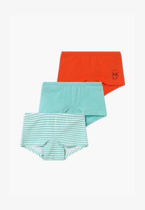 KIDS 3 PACK - Pants - mint/orange