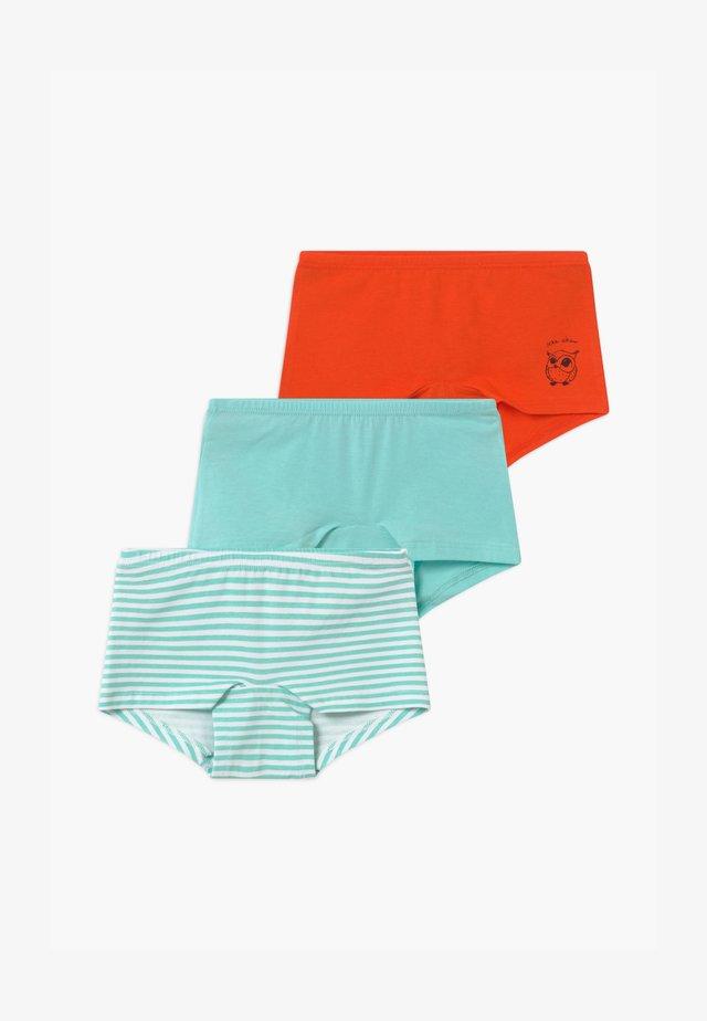 KIDS 3 PACK - Panties - mint/orange