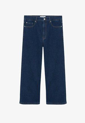 MID-RISE  - Straight leg jeans - donkerblauw