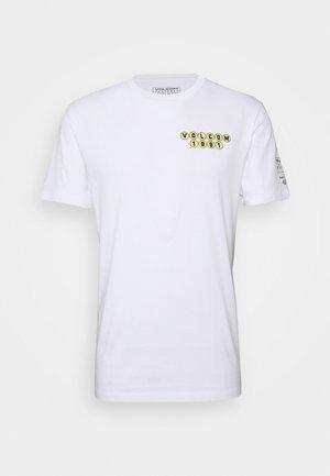 ELZO DURT - Print T-shirt - white