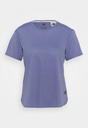 GO TO TEE  - Basic T-shirt - orbit violet/black