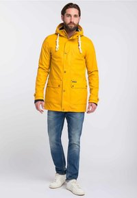 Schmuddelwedda - Parka - mustard yellow - 1