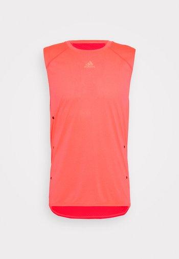 ADIZERO HEAT.RDY SPORTS RUNNING SINGLET TANK - T-shirt sportiva - sigpnk