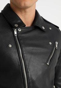 Serge Pariente - ROCKY - Leather jacket - black - 5