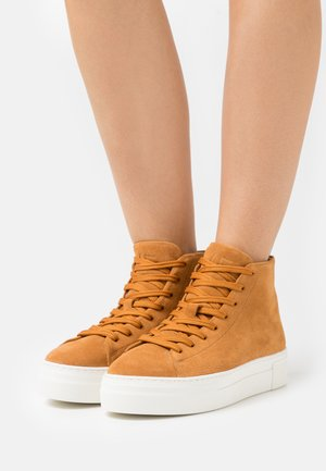 SLFHAILEY TRAINER  - High-top trainers - sudan brown