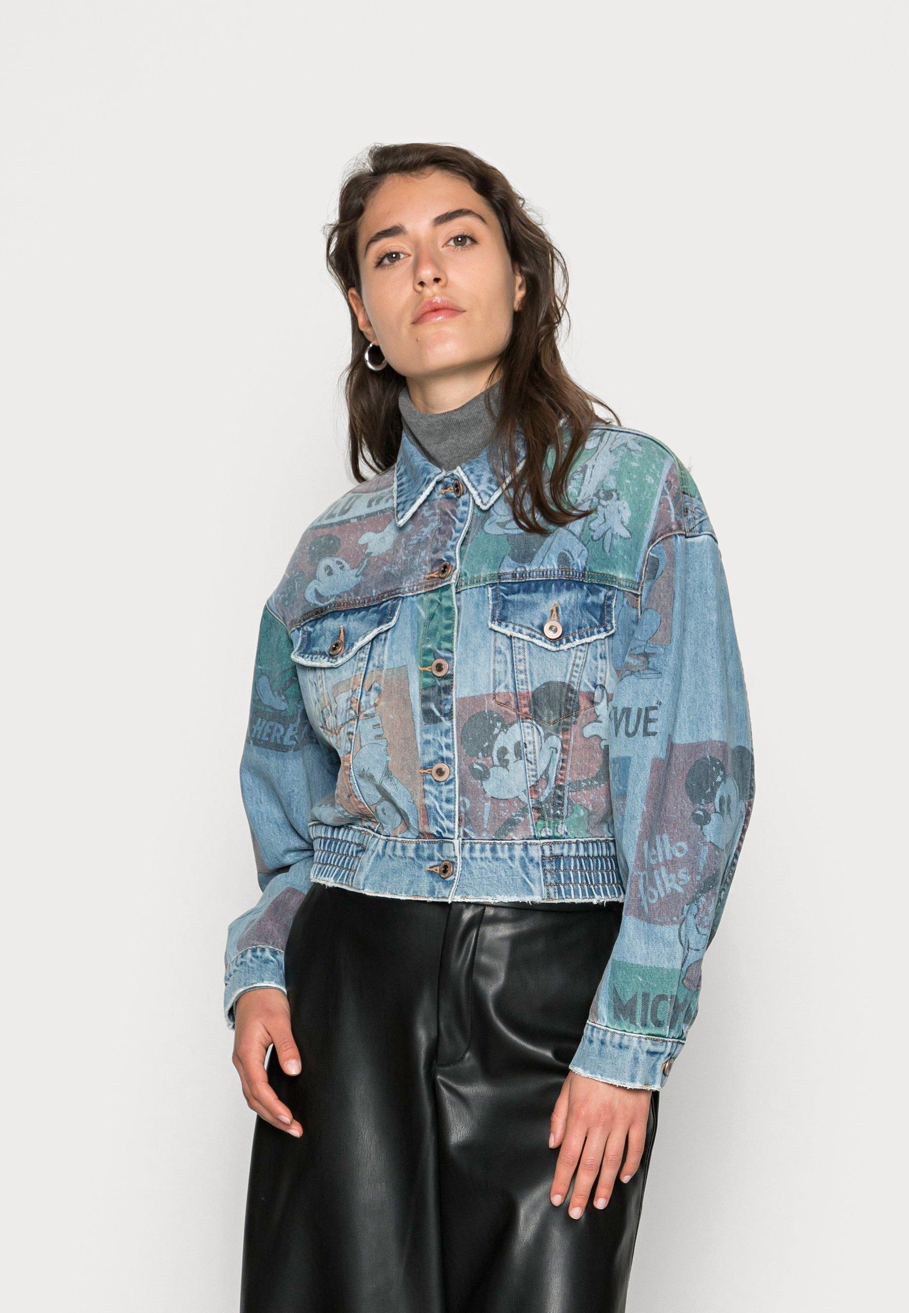 Femme CHAQ INDIA MICKEY - Veste en jean