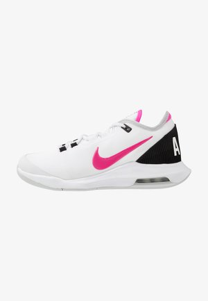 COURT AIR MAX WILDCARD - Multicourt Tennisschuh - white/laser fuchsia/grey fog/black