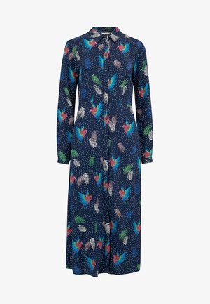 CLARISSA PARADISE PARROT - Shirt dress - blue