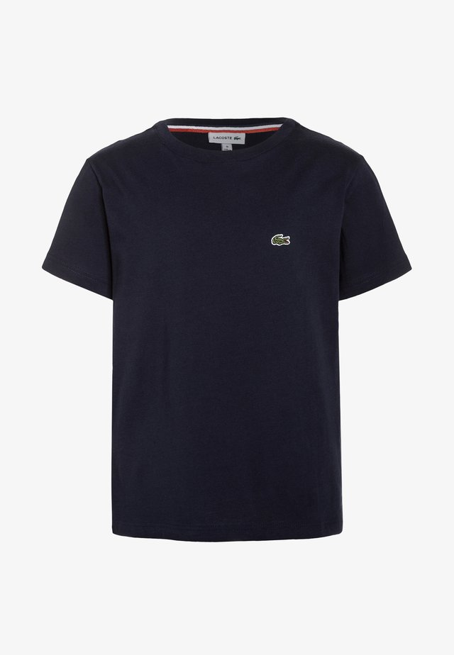 TURTLE NECK - Basic T-shirt - navy blue