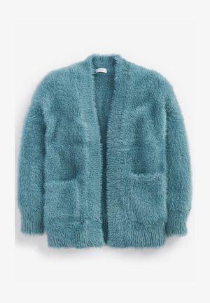 FLUFFY LONG - Cardigan - blue
