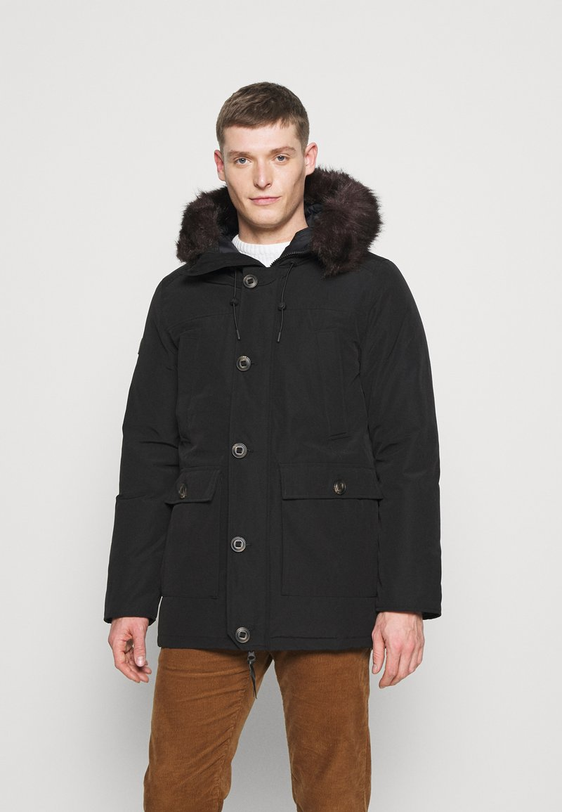 Superdry - ROOKIE - Down coat - black
