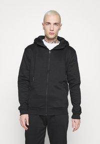 Brave Soul - LANISTER - Zip-up hoodie - jet black - 2