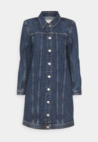 ONLY - ONLSMITH PADDED - Short coat - light blue denim - 5