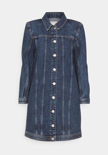 ONLSMITH PADDED - Krátký kabát - light blue denim