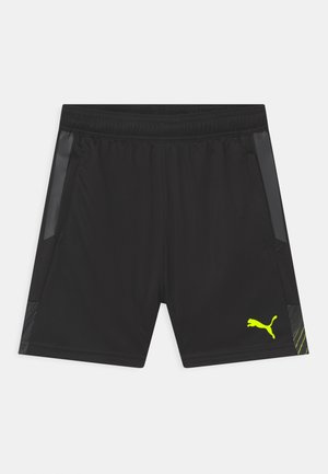 INDIVIDUALCUP UNISEX - Sports shorts - puma black/yellow alert