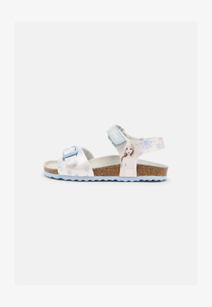 ADRIEL DISNEY FROZEN - Sandals - white/sky