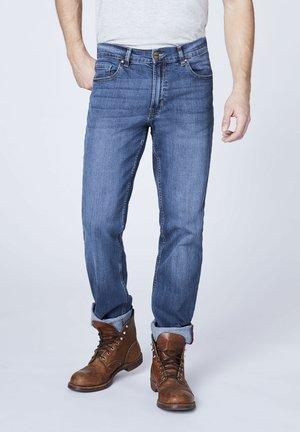 Straight leg jeans - light stone