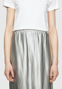 MM6 Maison Margiela - A-line skirt - light grey - 4