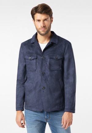 Summer jacket - moon blue