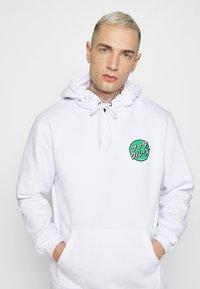 Santa Cruz - OTHER JAPANESE DOT HOODIE UNISEX - Sweatshirt - white - 3