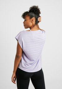 Even&Odd active - Print T-shirt - mauve - 2