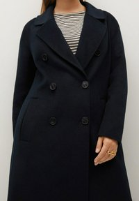Violeta by Mango - NAVY - Classic coat - dunkles marineblau - 3