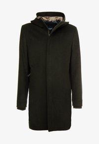 Goosecraft - CARDER COAT - Zimní kabát - black/olive - 4