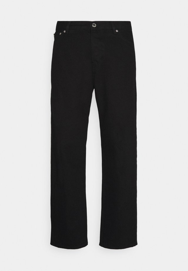 UNISEX LOOSE - Relaxed fit jeans - black