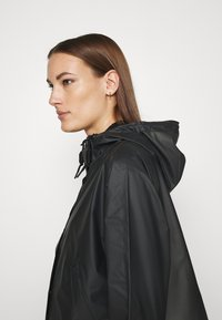 Hunter ORIGINAL - ORIGINAL CROP SMOCK - Summer jacket - black - 3
