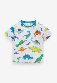 Next - GOTS ORGANIC DINOSAUR STRETCH - T-shirt print - green - 3
