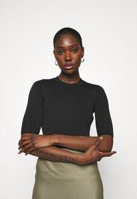 ARKET - Long sleeved top - black - 0