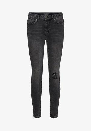 VMHANNA - Jeans Skinny Fit - dark grey denim