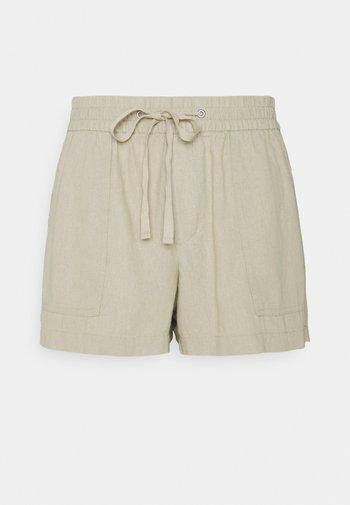 PULL ON UTILITY SOLID - Shorts - sand caked khaki