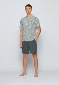 BOSS - SET - Pyjama set - dark green - 1