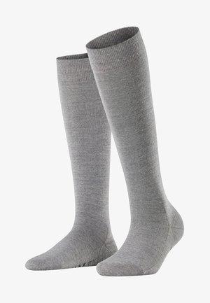SOFTMERINO - Knee high socks - light grey