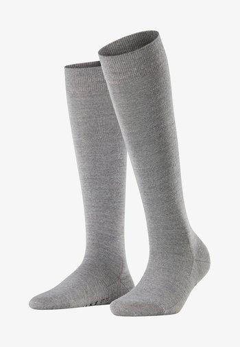 FALKE Softmerino Kniestrümpfe  - Knee high socks - light grey