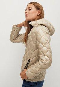 Mango - BLANDIN - Winter jacket - ecru - 5