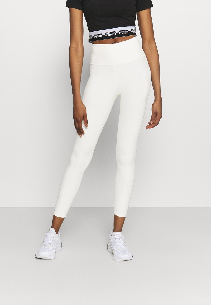 Puma - STUDIO YOGINI LUXE HIGH WAIST - Leggings - eggnog heather