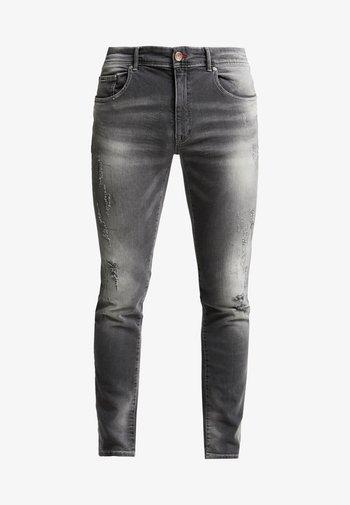 SEAHAM REPAIR - Jeans slim fit - light grey