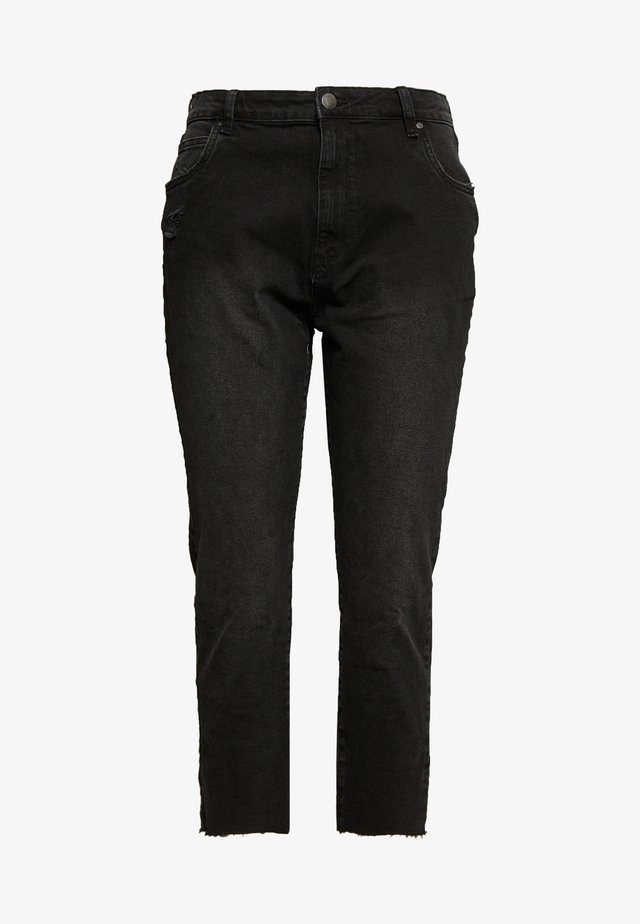 CURVE TAYLOR MOM - Jeans baggy - black