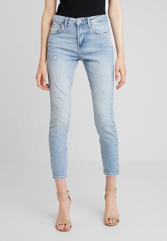 CUTE HIGH WAIST - Jeans Skinny Fit - blue
