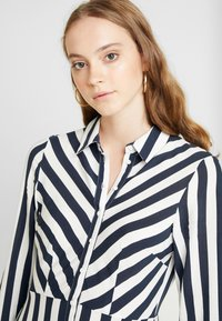 YAS - YASSAVANNA LONG DRESS - Maxi dress - carbon/star white - 4