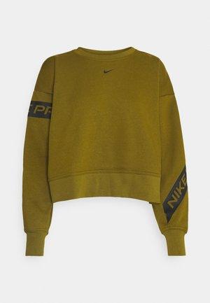 GET FIT - Sweatshirt - olive flak/black