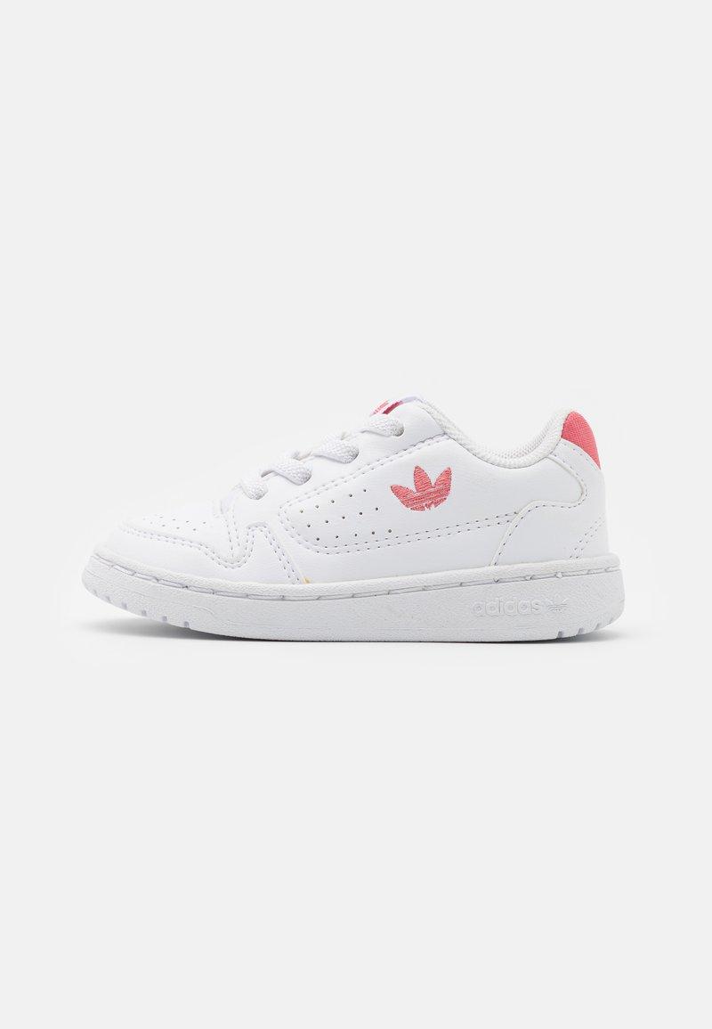adidas Originals - NY 92 UNISEX  - Trainers - footwear white/hazy rose
