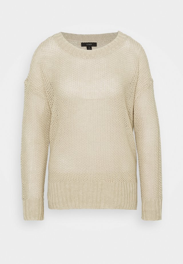 CREWNECK BEACH - Jumper - flax