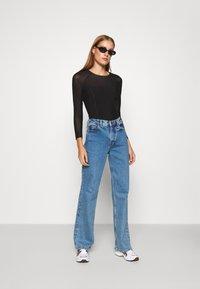 Calvin Klein Jeans - Bluzka z długim rękawem - black - 1