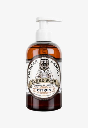 BEARD WASH - Beard shampoo - citrus