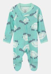Carter's - TURTLE  - Sleep suit - mint - 0