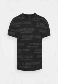 Armani Exchange - T-shirt print - black - 4