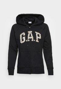 GAP - NOVELTY - Sweater met rits - black - 3